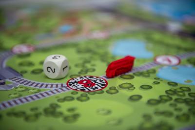 Создание настольных игр на железнодорожную тематику